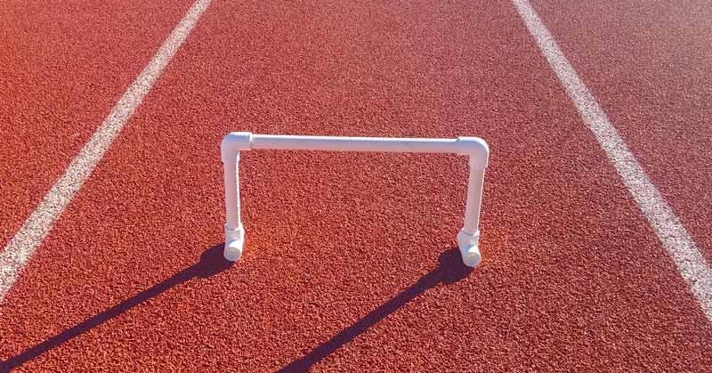 speed-hurdle-on-track